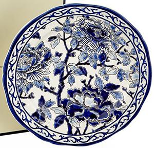 Harrods Gien Pivoines Bleues Dinner Plate (25 cm): £225.