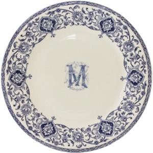 Gien Bespoke Dinner Plate / Set 6: €180.