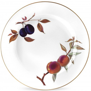 Royal Worcester Evesham Gold Plates 10.5 inch Set of 4: £43.99.