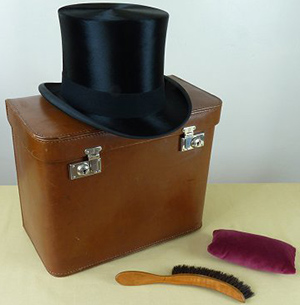 Lincoln Bennett top hat.