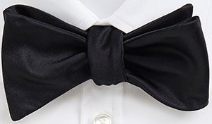 'Bow Tie Classic ' | Silk Solid Bow Tie by BOSS: US$115.