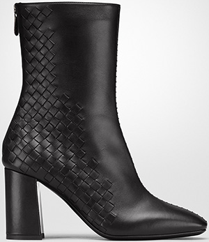Bottega Veneta Nero Calf Ankle Boot: US$1,150.