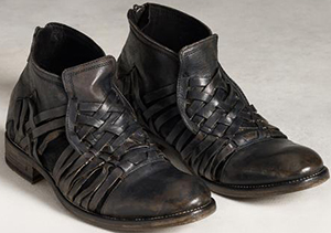 John Varvatos Freeman Huarrache Boots: US$1,198.