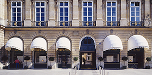 Boutique Vendôme. 12, place Vendôme 75001 Paris, France.