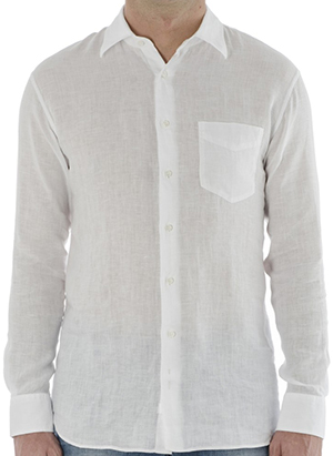 Fedeli St. Germain 100% Linen Shirt: €120.