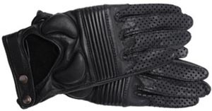 JAS M.B. Padded Leather Wrist Women's Gloves.