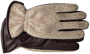 Johnston & Murphy Wool Knit women's gloves.