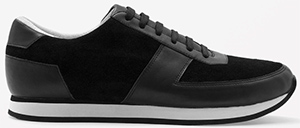 COS Contrast Men's Leather Sneakers: US$125.