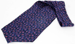 Holland & Holland Small Silk Paisley Cravat: £125.