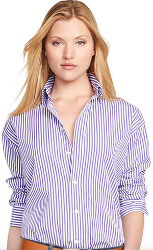 Polo Ralph Lauren Relaxed Classic Women's Shirt: US$125.