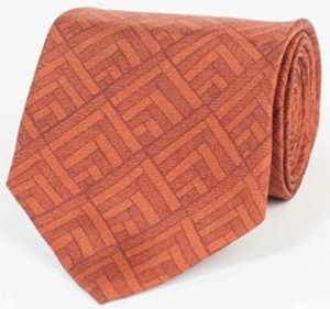 Billy Reid Chevron Tie - Arabian Spice: US$125.