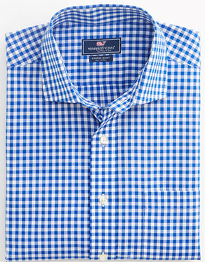 Vineyard Vines Gingham Cooper Men's Shirt: US$128.