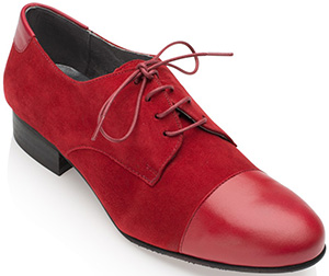 Franchetti Bond Victoria Suede-Calf Red/Red women's shoes: £129.95.