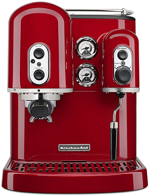 Kitchen Aid Pro Line Series Espresso Maker with Dual Independent Boilers: US$1,299.99.