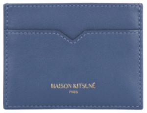 Maison Kitsuné leather card holder: €130.