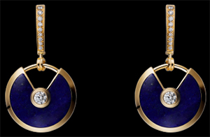 Amulette de Cartier Women's Earrings: US$12,000.