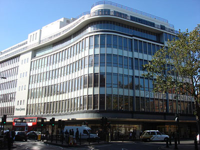 Peter Jones, Sloane Square, Chelsea, London SW1W 8EL, Englannd, U.K.