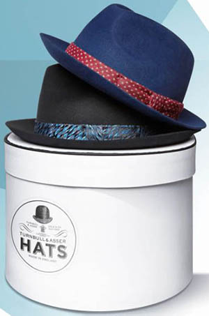 Turnbull & Asser men's hats.