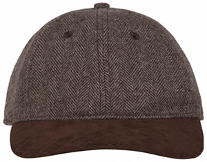 Vicomte A. Chevron men's brown hat: €50.