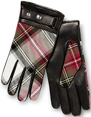 Vivienne Westwood men's tartan gloves 6405 new exhibition: €255.