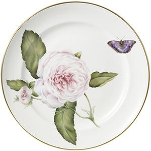 Asprey China Rose Charger Plates: US$1,350.