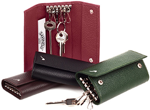 Savinelli Men's leather key holders.