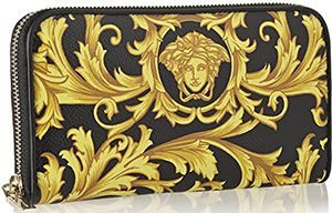 Versace Heritage Continental Wallet for Women: US$595.