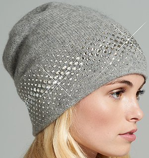 William Sharp women's slouch hat with fade edge: £458.