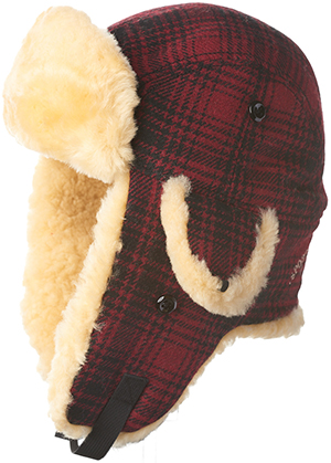 Woolrich Men's Plaid Wool Hunting Hat: US$165.
