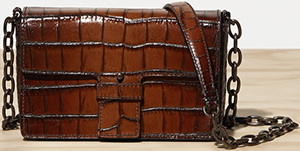 Tomas Maier embossed cross body bag: US$1,420.
