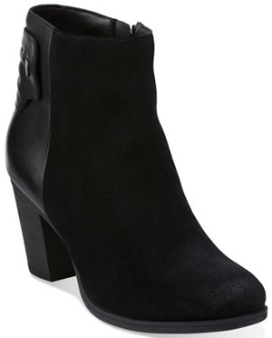 Clarks Palma Rylie women's ankle boot: US$150.