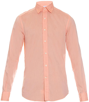 Glanshirt Kent cotton shirt: €150.