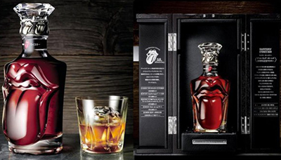 Suntory Rolling Stones 50th Anniversary Whisky.