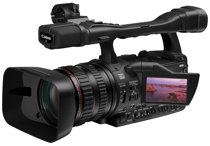 Canon's newest 3CCD HD camcorders is the XH A1S HD camcorder.