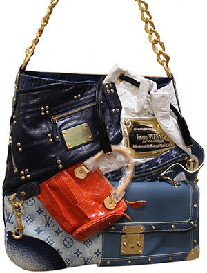 Louis Vuitton Tribute Patchwork Bag: US$45,000.