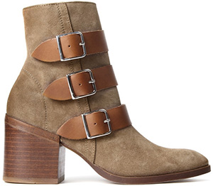 Hudson Shoes Moss Suede Beige Boot: $359.
