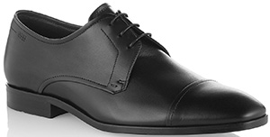 Leather lace-up shoes 'Vibrio' by BOSS.