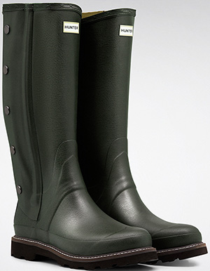 Hunter Men's Balmoral Side Zip Wellington Boots: £290.