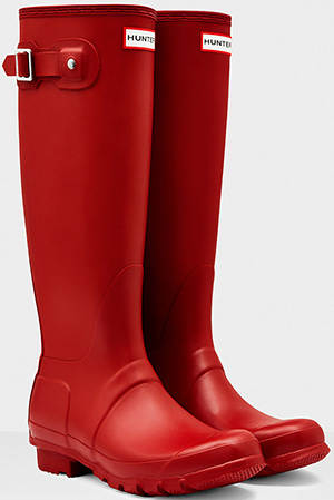 Hunter Women's Original Tall Wellington Boots: €140.