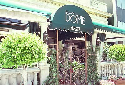 Le Dome, 8720 W Sunset Blvd, West Hollywood, CA 90069.