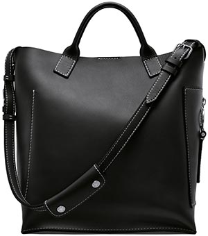 Acne Studios Hero jeans black bag: US$1,350.