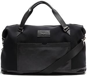 Alberto Guardiani bag in calfskin leather and scuba fabric: €299.