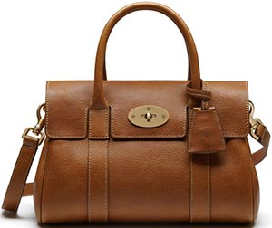 Mulberry Bayswater Oak Natural Leather with Brass: US$1,430.