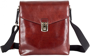 Bosca Old Leather Man Bag: US$395.