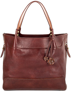 Bosca Old Leather Washed Bella Ragazza Bag: US$455.
