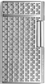 Caran d'Ache Type 55 silver-plated and rhodium-coated lighter: €872,89.