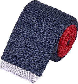 Penrose London Knit Reversible Tie: US$170.