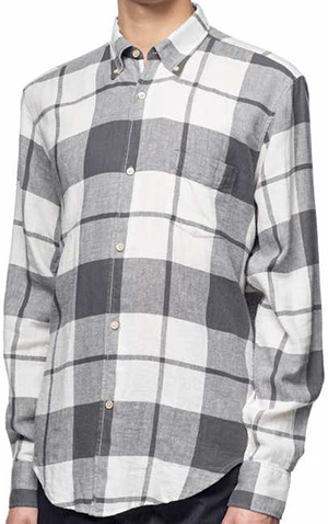 Our Legacy 1950's Grey Check Cloth Men's Shirt: €160.