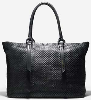 Cole Hann Bethany Weave Large Tote: US$598.