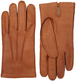 Lock & Co. men's Deerskin gloves: £125.